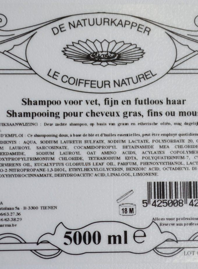 shampoo vloeibaar vet haar